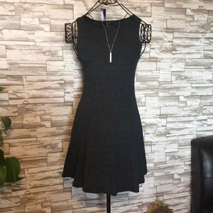 Forever 21 fir and flare dress